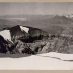 Max T. Vargas, Vista del cratere del vulcano El Misti, Arequipa, 1900