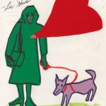 Giosetta Fioroni, cover di My Story, Corraini Edizioni / Giosetta Fioroni, cover of My Story, Corraini Editions