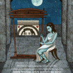 """Screenshot from """"The Voyage of Ulysses"""" illustrazioni di Lucia Conversi, edizioni Elastico App"""