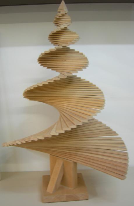 Design in 400 parole trasformazioni dell albero di natale - Alberi da interno ...