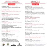 Il programma / calendar