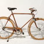 Littorina autarchica – bicicletta in legno e alluminio, 1939, Vianzone Courtesy Collezione privata