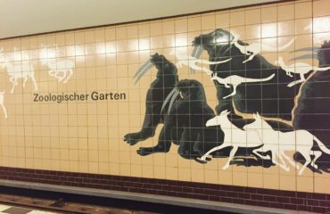 The Berlin subway, station Zoologischer Garten