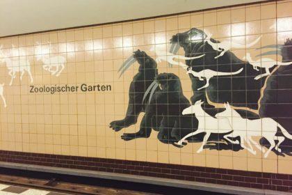 The Berlin subway, station Zoologischer Garten