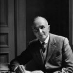 Luigi Magnani nel suo studio, foto Proof (Londra) - Archivio Fondazione Magnani Rocca