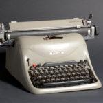 Marcello Nizzoli, Macchina da scrivere Lexicon 80, 1948, Centro Studi e Archivio della Comunicazione, Università degli Studi di Parma