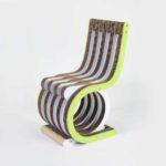 Giorgio Caporaso, Twist Chair, collezione Ecodesign per Lessmore