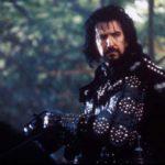 Alan Rickman nei panni dello sceriffo di Nottingham, in 'Robin Hood: Principe dei ladri'