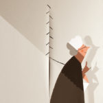 Fontana's grandmother, digital illustration, 2016, courtesy of the artist