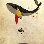 Riccardo Guasco, I believe I can fly, illustrazione digitale, 2011