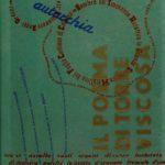 """Tavola parlante in cellophane di """"Campo grafico aeroporto della rivoluzione futurista delle parole in libertà poesia pubblicitaria"""". Anno VII N. 3-5. Milano, 1939"""