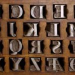 Punches for round-Latin characters in boxes, Parma, Palatine Library, permission of the Ministry of Cultural Heritage and Activities and Tourism