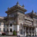 Facciata delle Terme Berzieri, Salsomaggiore (Parma)