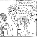 Kate Beaton, una striscia su Jane Austen