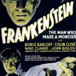 Frankenstein movie poster directed by James Whale, 1931